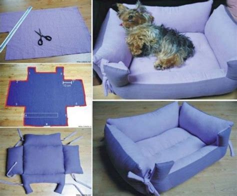 How To Make A Dog Pillow Bed | how to make a pet pillow bed pictures photos and images