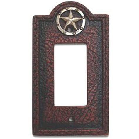 electrical wall plates decorative circle western decorative single rocker switch plate