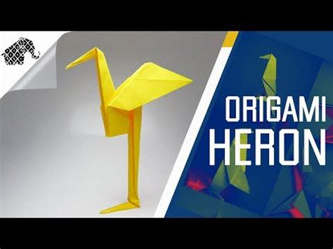 Origami Heron - 1134 best images about origami on more origami