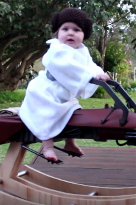 dad builds star wars rocking speeder bike   mini