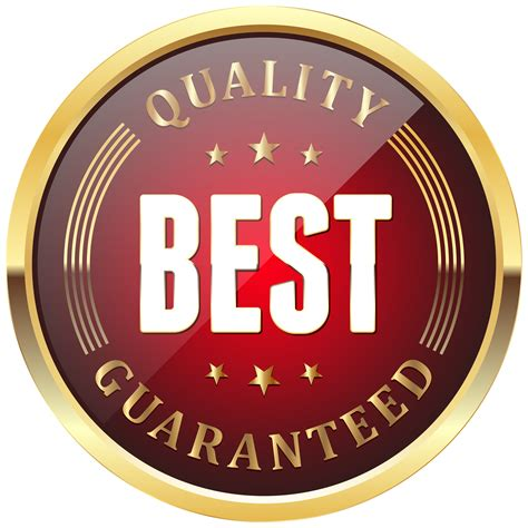 Best Quality by Best Quality Guaranteed Badge Transparent Png Clip