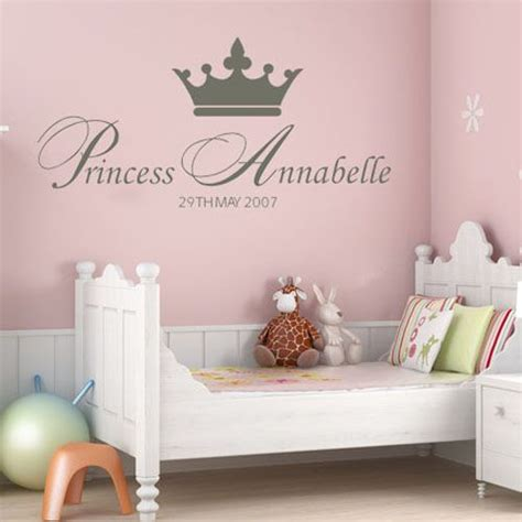 Girls Wall Stickers 2017 Grasscloth Wallpaper Princess Wall Decals For Nursery
