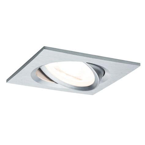 de spots spot led encastrable carr 233 orientable dimmable 220v alu 7w
