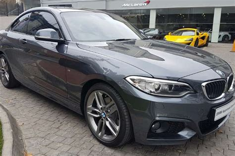 bmw 2 series m sport coupe 2017 bmw 2 series 220d coupe m sport auto coupe diesel