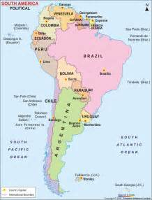 map of south america and their capitals travel medicine information for countries in south america