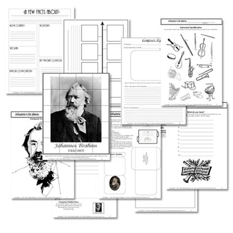 printable music lesson plans great composers all worksheets 187 composer worksheets printable