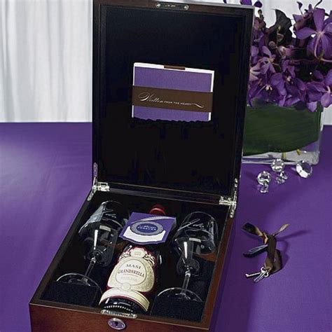 Wedding Box With Wine And Letters by Personalized Letter Wine Wedding Ceremony Box Set
