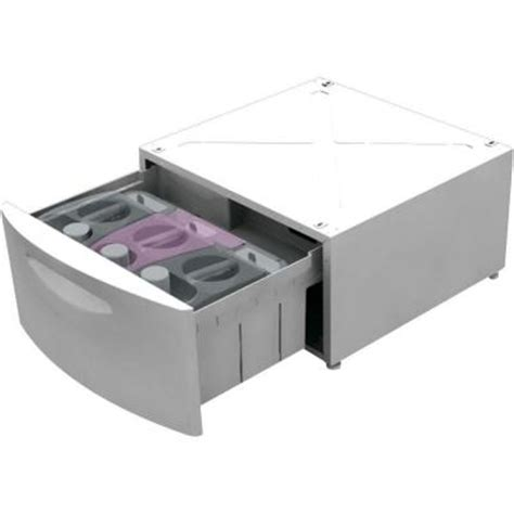Laundry Pedestal With Storage Drawer by Ge Smartdispense Laundry Pedestal With Storage Drawer In