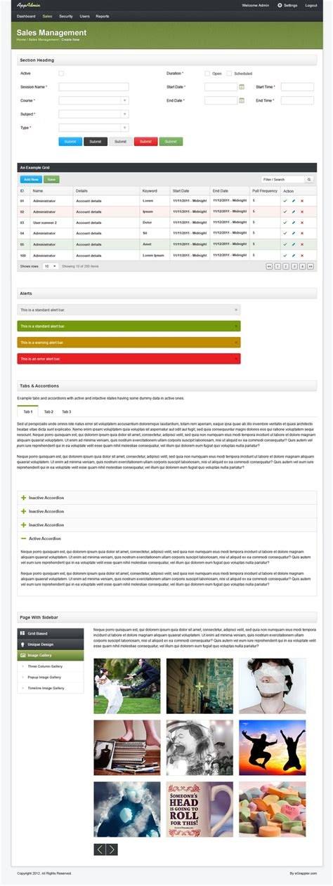backend admin template backendadmin template 点力图库