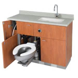 sink or swing swing out toilet made for hospitals would this
