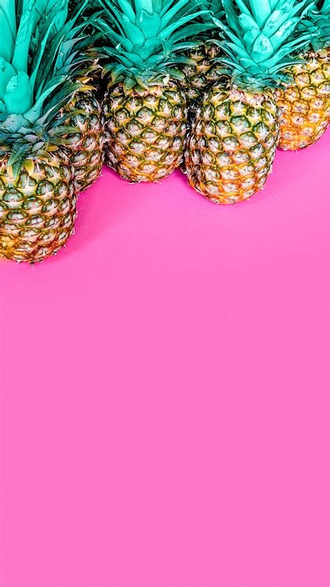 colorful wallpaper pineapple  wallpaper