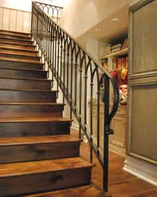Ideas For Staircase Railings Stair Railing Designs Wood Vs Iron