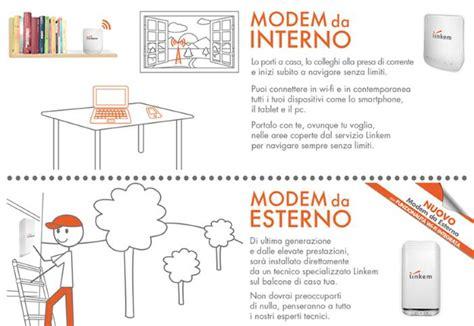 linkem modem esterno o interno linkem adsl costi offerte copertura italia velocit 224