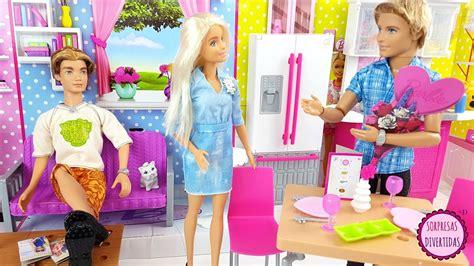 imagenes romanticas q diga barbie primo de barbie estropea cena rom 225 ntica ken palabras