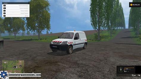 peugeot partner car fs 2015 peugeot partner car mod simulator mods