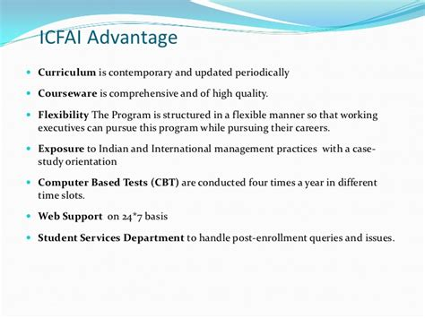 Icfai Mba Admission by Icfai Mba Program