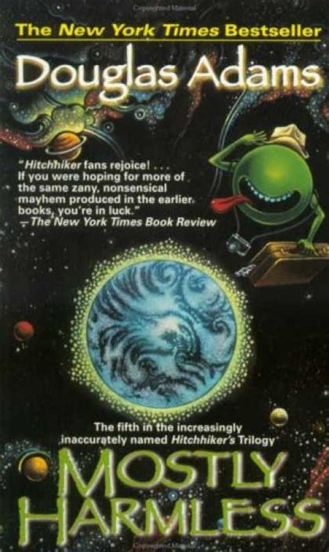 Mostly Harmless douglas book covers