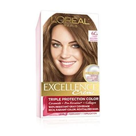 l oreal excellence creme kit 6g light golden brown 071249210611a699 ebay excellence legends inspired by loren by l oreal