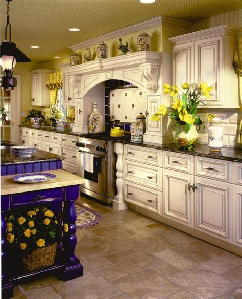 country painted kitchen cabinets country style kitchen with painted cabinets kitchen