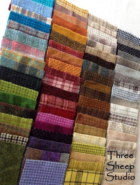 felt applique patterns wool applique charm packs at threesheepstudio wool