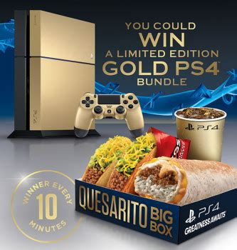 Taco Bell Ps4 Sweepstakes - taco bell and playstation game