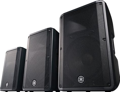 Speaker Yamaha Dbr 15 yamaha dbr dxr series powered speakers audiotechnology