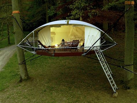 Ecological (and Expensive) Tent Treehouse   The Shelter Blog