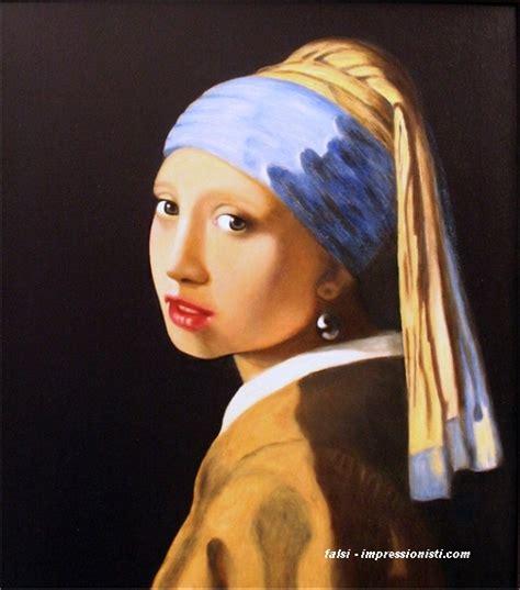 ragazze con la la ragazza dall orecchino di perla offerta quadro vermeer