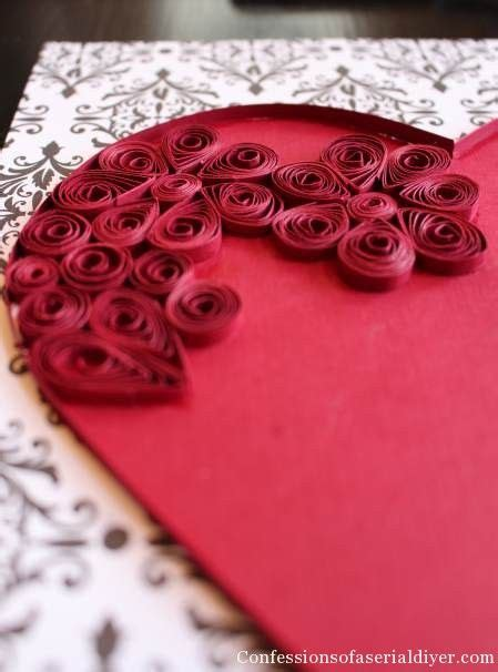 tutorial quilling heart 224 best images about paper quilling valentines hearts