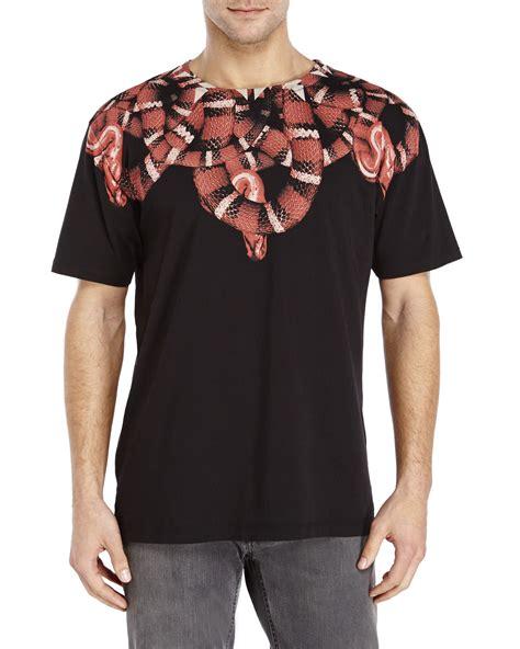 Marcelo Burlon All Snake Marcelo Burlon Moon Snake T Shirt In Black For Lyst