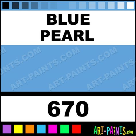 blue pearl folk acrylic paints 670 blue pearl paint blue pearl color plaid folk