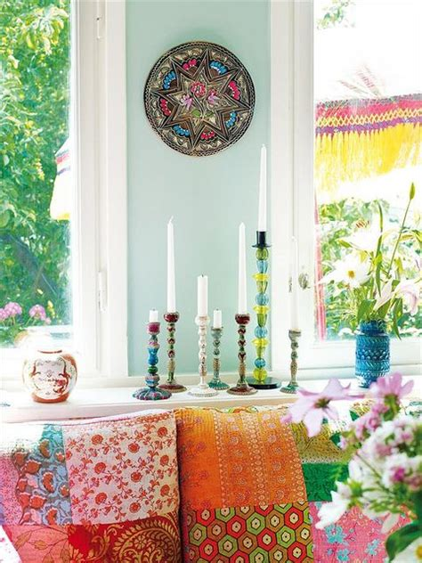 bright home decor ideas for beautiful interior design bohemian style home