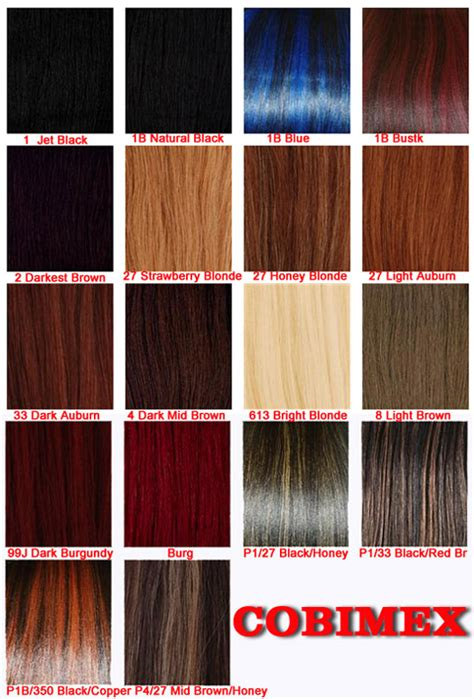 braiding hair color chart expressions braiding hair color chart x pression