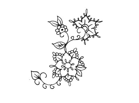 olivia fayne flower temporary tattoo candid wedding