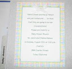 design baby shower invitation wording for a baby