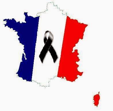 imagenes luto en paris bandera de francia con lazo negro de luto frases para