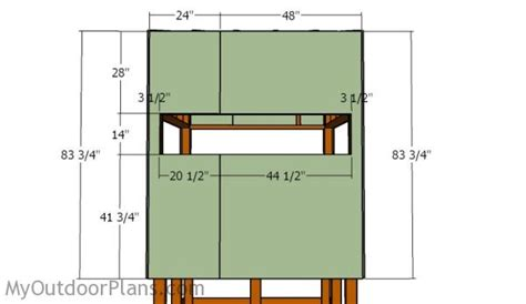 hunt box floor plans elevated deer blind plans myoutdoorplans free woodworking plans and projects diy shed