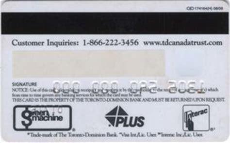 Td Bank Gift Cards - bank card access card td canada trust canada col ca un 0001 3