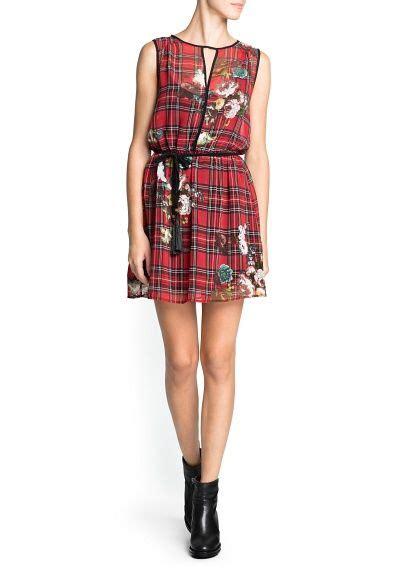 combi print chiffon dress print