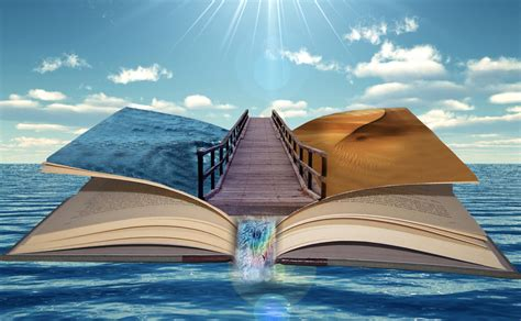 manipulated books pin desert photomanipulation air balloons skyscapes