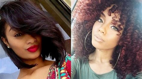 winter hairstyle for black woman 2018 winter hairstyles for black women youtube