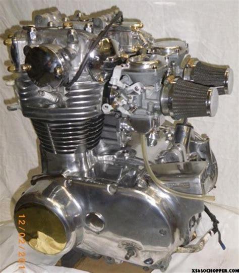 Handmade Engine - walter bullet one xs650 xs650 chopper