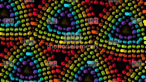 geometric pattern rotation colorful peas building in rotation geometric kaleidoscope