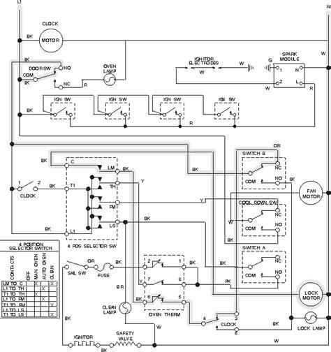 defy 600 slimline oven wiring diagram 37 wiring diagram