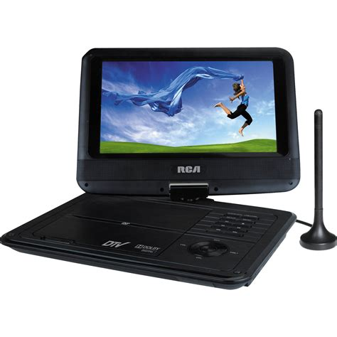 Tv Portable rca 9 quot portable dvd tv combo player dpdm95r b h photo