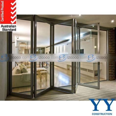 folding glass patio doors prices aluminum folding patio doors prices glazed energy