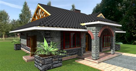 home design plans with photos in kenya deluxe 3 bedroom bungalow plan david chola architect