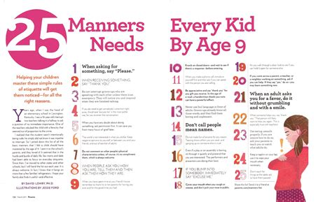 24 basic dining etiquettes 25 manners kids should know manners kids etiquette and