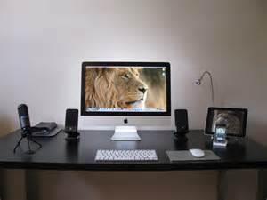 Imac Desk Imac Ikea Desk Modified Ikea Desk For My Imac All Of