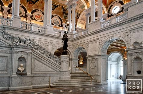 library of congress great interior with grand
